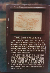 The Grist Mill Site