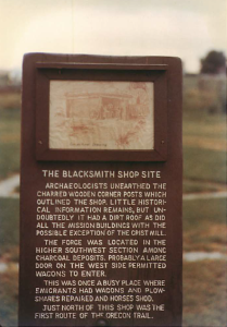 The Blacksmith Shop Site